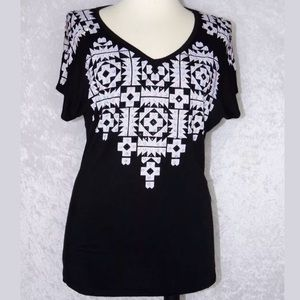 Vocal Short Sleeve Top Small Medium